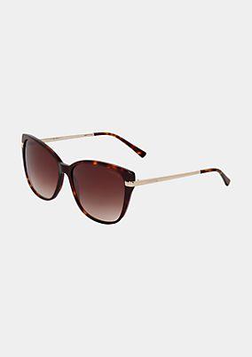 Elegante Sonnenbrille mit schmalem Augenrand
