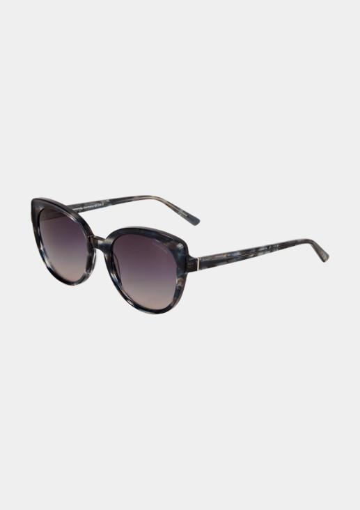 Sonnenbrille mit breiter Fassung