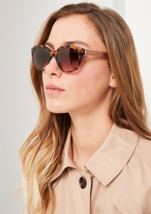 Feminine Sonnenbrille mit Leopardenmuster