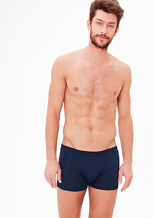 Cotton jersey boxer shorts from s.Oliver
