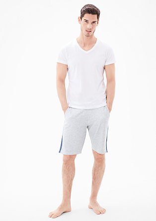 Comfortable sweatshirt Bermudas from s.Oliver