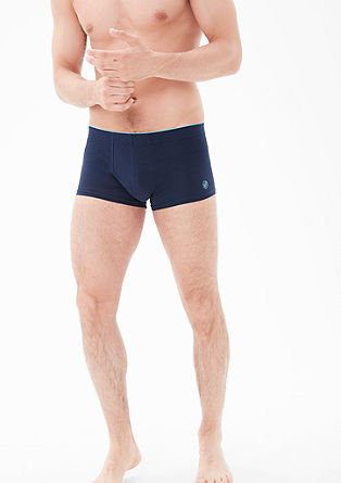 Double pack of low-cut jersey boxer shorts from s.Oliver