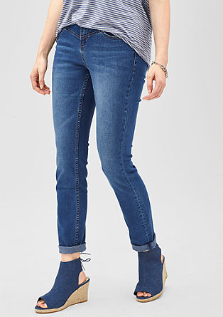 Regular: classic blue jeans from s.Oliver