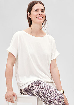 T-shirt in a layered look from s.Oliver