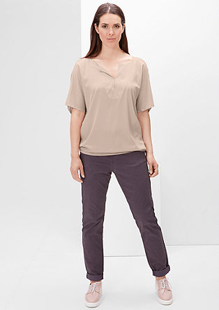 V-neck blouse top from s.Oliver