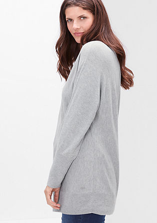 Fine knit jumper with cashmere from s.Oliver