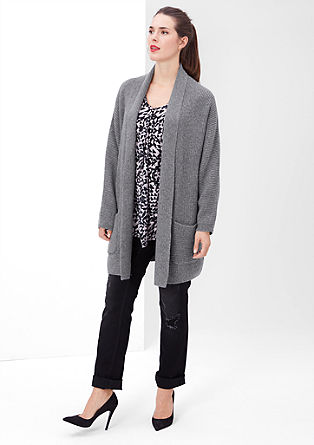 Cardigan with wool and alpaca from s.Oliver