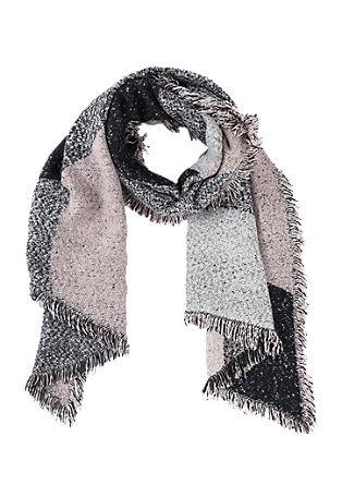 Extra grote, geweven sjaal