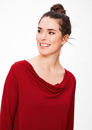 Longline cowl top from s.Oliver