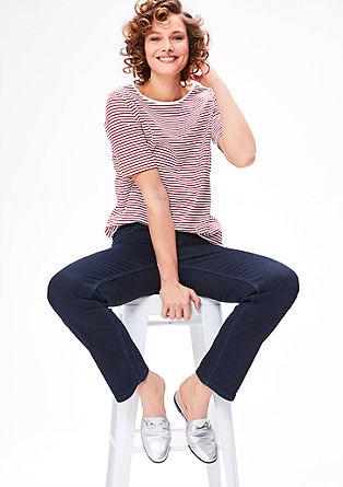 Curvy: Jeans mit geradem Bein