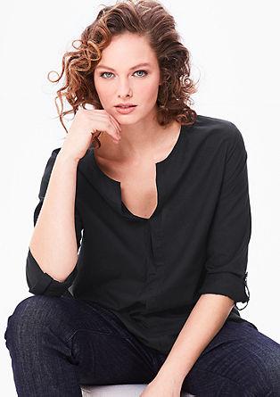 Bluza iz batista v slogu tunike