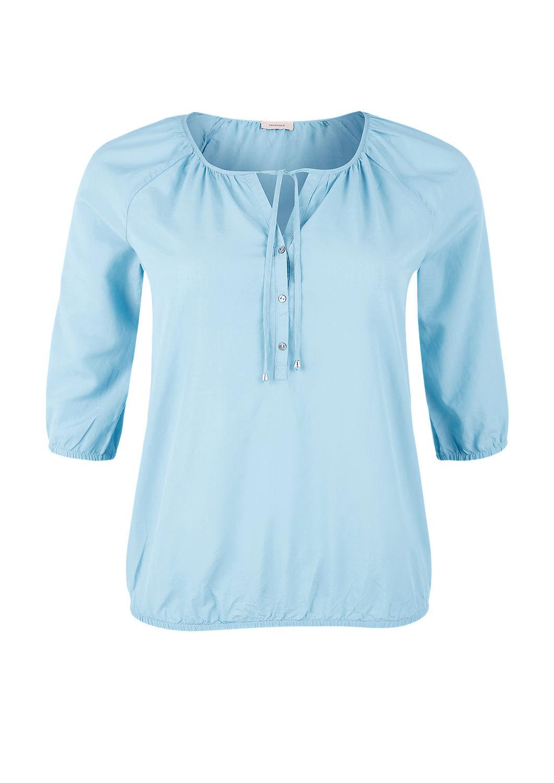 feminine bluse mit gummibund kaufen s oliver shop. Black Bedroom Furniture Sets. Home Design Ideas