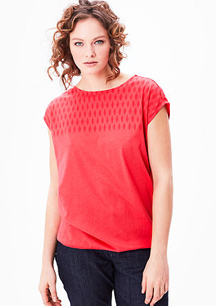 Loose-fitting jersey top from s.Oliver