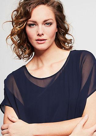 Zartes Blusenshirt aus Chiffon