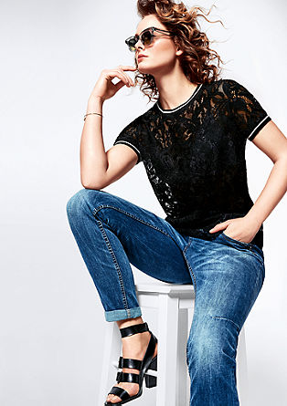 Fancy Fit: jeans with studs from s.Oliver