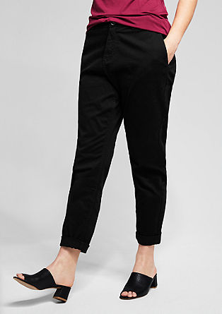 Stretch cotton chinos from s.Oliver