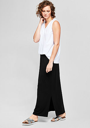 Long jersey skirt from s.Oliver