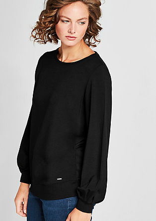 Sweatshirt in modischem Shape