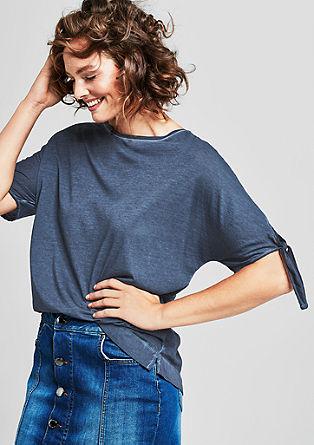T-Shirt mit Wascheffekt