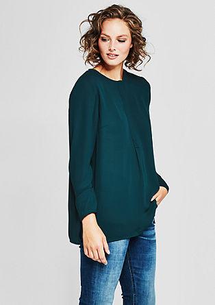Ohlapna bluza iz krepa