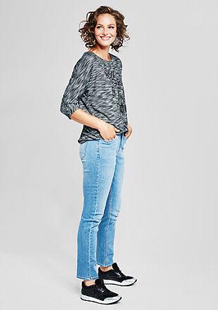 Regular Slim: svetle raztegljive jeans hlače
