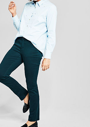Regular Slim: colourful, stretchy twill from s.Oliver