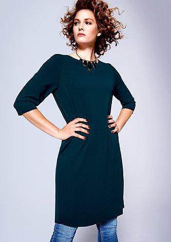 Pures Kleid aus Double-Face-Jersey