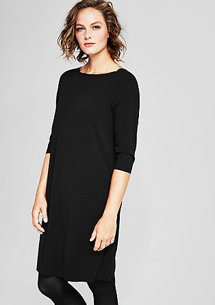 Minimalist dress in double-faced jersey from s.Oliver