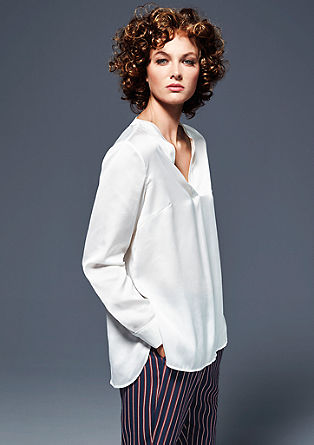 Elegant satin tunic from s.Oliver