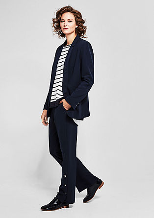 Eleganter Twill-Blazer