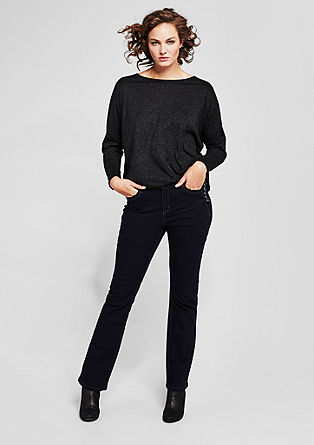 Curvy flare: flared jeans from s.Oliver