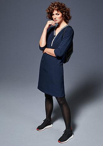 Kleid mit Glitzer-Detail