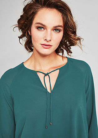 Layered crêpe blouse from s.Oliver