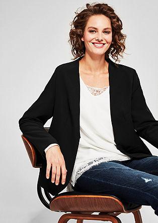 Elegante blazer in een minimalistische look