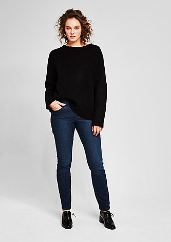 Regular Slim: Stretch-Jeans
