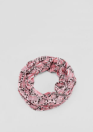 Snood with an all-over print from s.Oliver