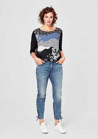 Fancy boyfriend: jeans met koorden