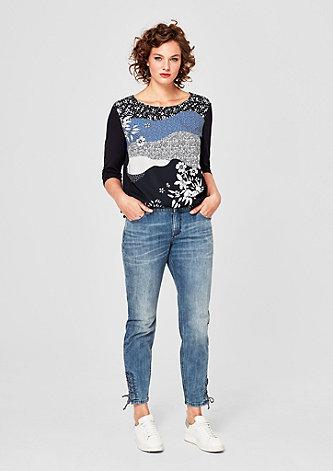 Fancy Boyfriend: Jeans mit Schnürung