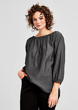 Delicate off-the-shoulder blouse from s.Oliver