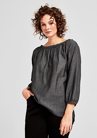 Zarte Off Shoulder-Bluse