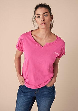 Jerseyshirt mit Stitching