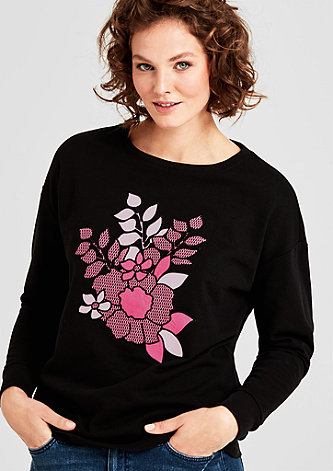 Sweatshirt mit Embroidery