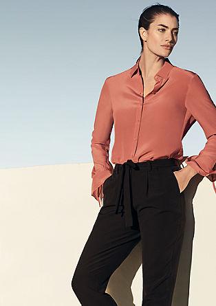 Business pantalon van crêpe