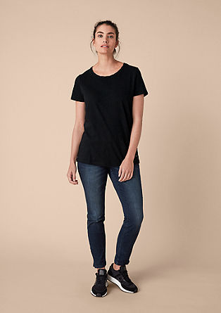 Tričko smelírovaným designem