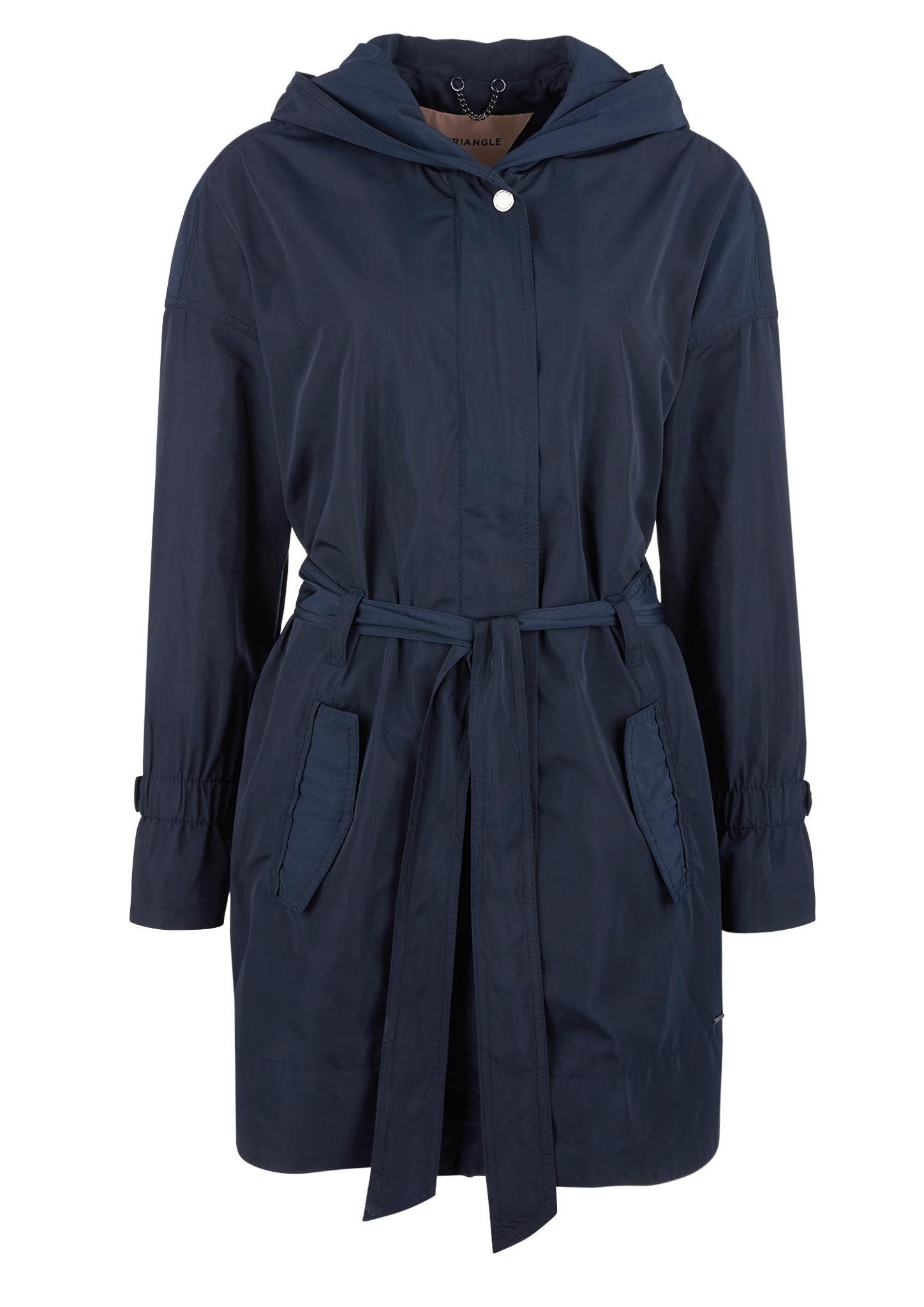 Mantel | Bekleidung > Mäntel > Sonstige Mäntel | Blau | 100% polyester | TRIANGLE
