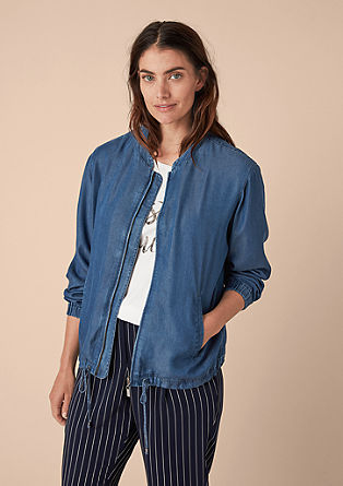 Denim blazer in lyocell from s.Oliver