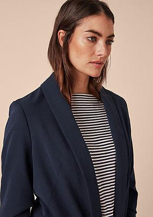 Casual oversized blazer