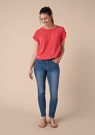 Curvy extra slim: minimalistische skinny jeans