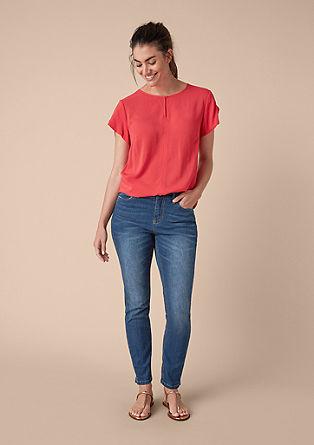 Curvy Extra Slim: Schlichte Skinny