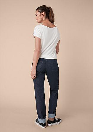Curvy straight: minimalistische jeans